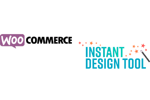 WooCommerce and Instant Design Tool logo