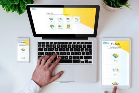 Instant Design Tool products on different devices