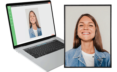 Customized photo with Instant Design Tool