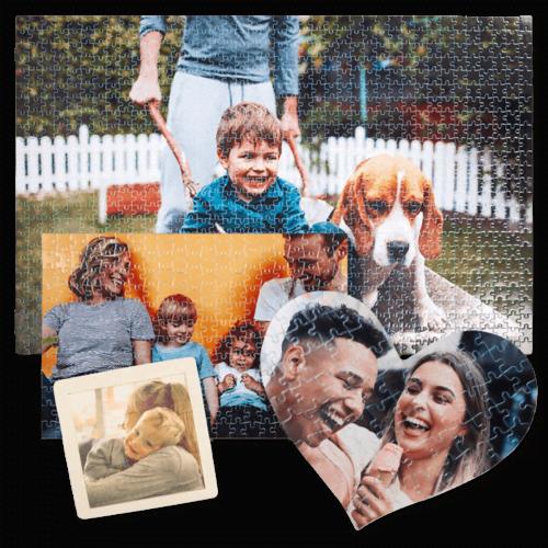 Maak een fotopuzzel van je eigen foto's!